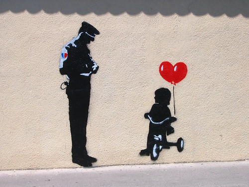 Banksy or not Banksy?...