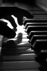 classical music, musician, white, pianist, piano, musical keyboard, keyboard, jazz pianist, monochrome photography, monochrome, black-and-white, black, player piano,