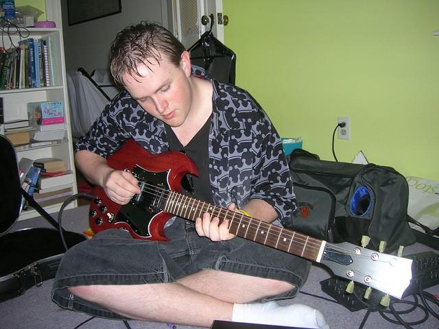 Photo:D.A.R.Y.L. Playing By Dana Rocks