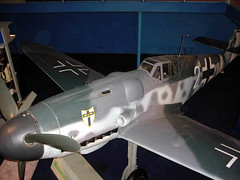aviation, airplane, propeller driven aircraft, wing, vehicle, fighter aircraft, scale model, messerschmitt bf 109, aircraft engine,