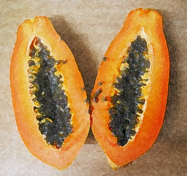 """papaya"" by mars! via flickr.com"