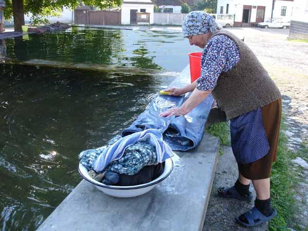 Lavoir pour bluejeans