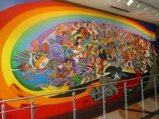 Leo Tanguma: The Children of the World Dream of Peace, Denver Airport