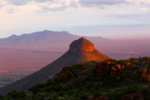Graaff-Reinet South Africa Picture : sunset at Spandau Kop