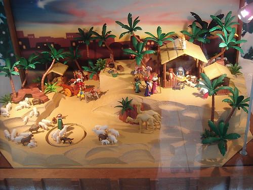La navidad btc sources for Como decorar un belen de navidad