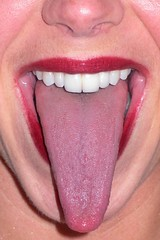 human body(0.0), smile(0.0), nose(1.0), tongue(1.0), chin(1.0), face(1.0), tooth(1.0), lip(1.0), oral hygiene(1.0), cheek(1.0), close-up(1.0), mouth(1.0), jaw(1.0), pink(1.0), organ(1.0),
