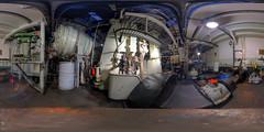 Maschinenraum Dampf-Eisbrecher Stettin (HDR)