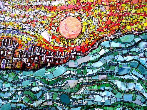 Smalti Mosaic Cityscape Where Hot Meets Cool Glascow