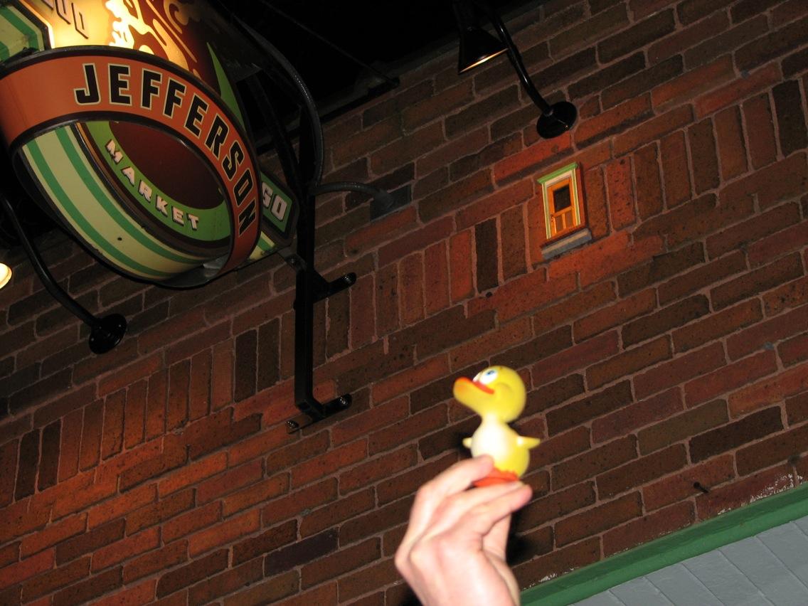 Duckie Amp Fairy Doors Ann Arbor Mi Jonathan Giving A