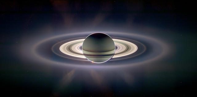 Photo:A View of Earth from Saturn By:alpoma