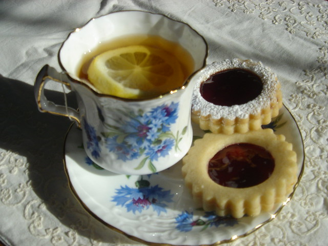 tea and cookies | Flickr - Photo Sharing!
