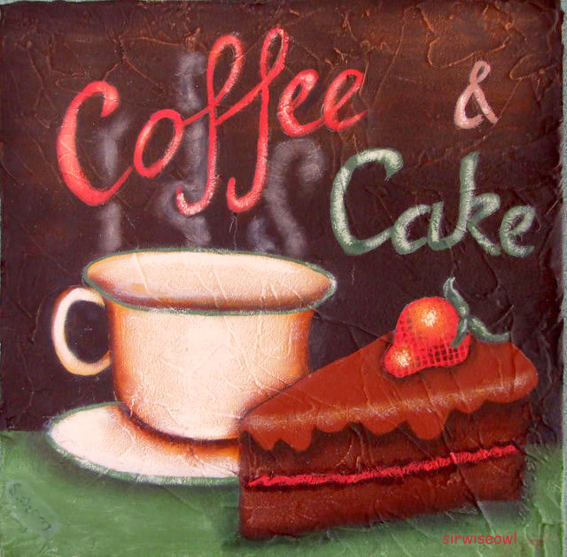 clipart coffee and cake - photo #30