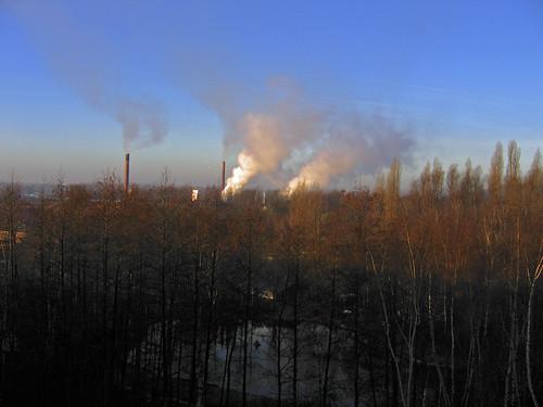 sunrise belgium belgique belgie canonpowershota95 brickyard steendorp steenbakkerij irriske