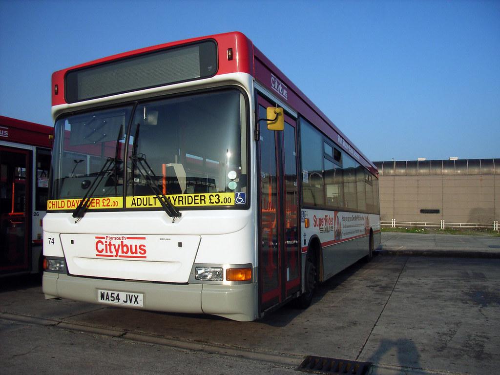 Plymouth Citybus 074 WA54JVX