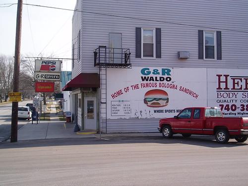 The G & R Tavern Waldo, OH