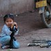 Girl with a Gun - Luang Prabang, Laos