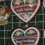 Czech Gingerbread Cookies - Old Town Christmas Market, Prague, Czech Republic