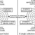 An Integral approach to individual and collective holons