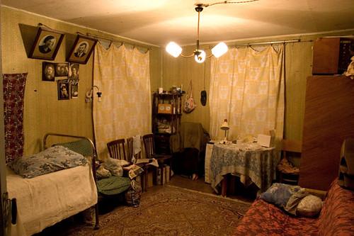 Russian village house living room interior flickr for Homes r us living room