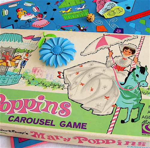 Vintage Mary Poppins Board Game