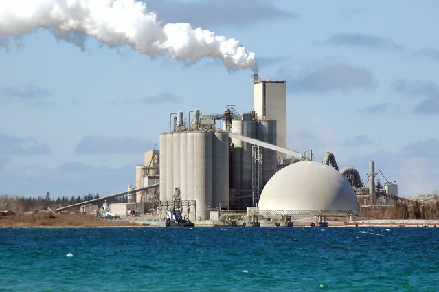 Cement City Michigan Cement Plant : Cement plant charlevoix mi by abarndweller flickr