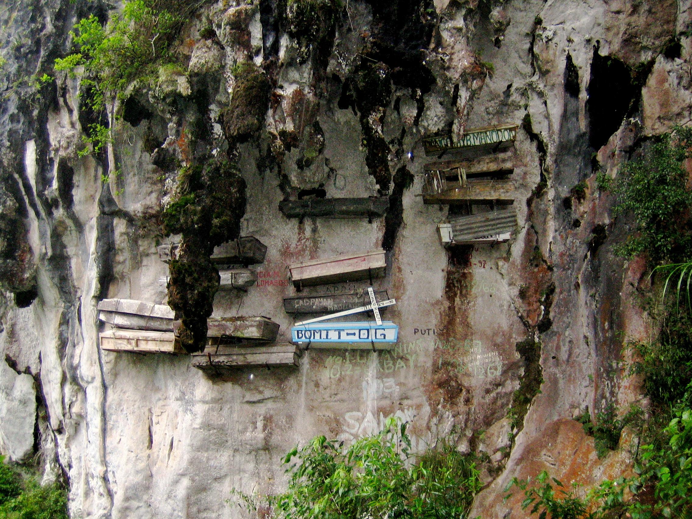 Hanging Coffins of Sagada