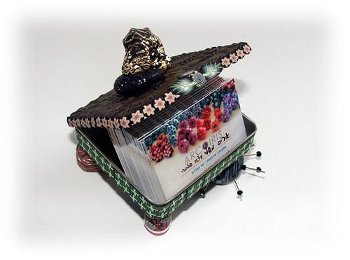 Card Box - open