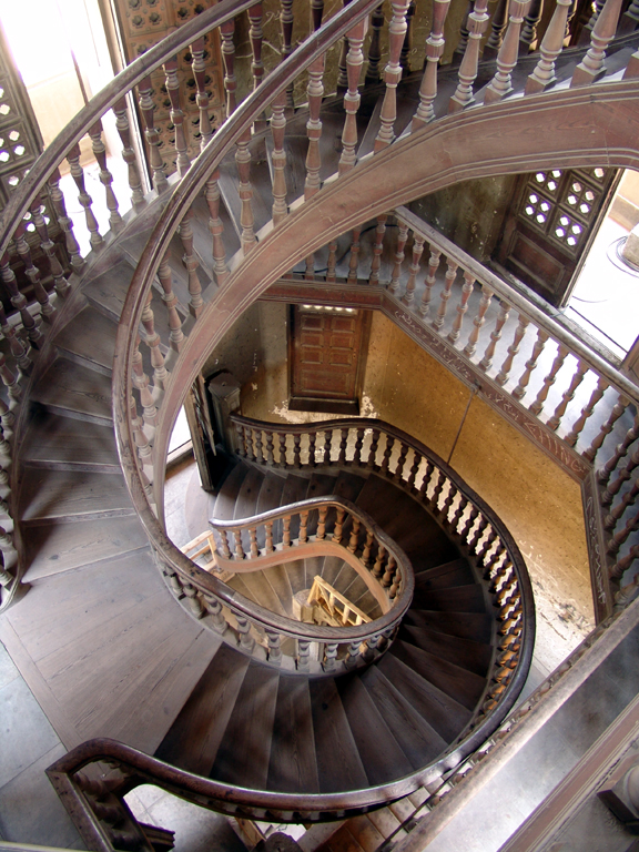 Corner Stair Tower At Night : Spiraling out of control the greatest spiral stairs in