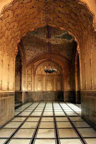 Architecture of Badshahi Masjid