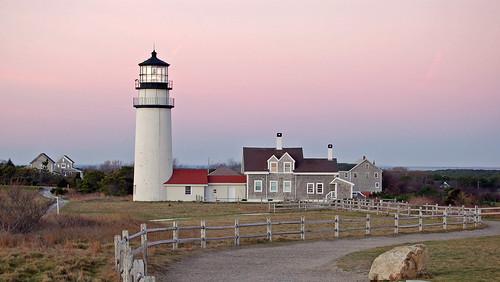 christmas light lighthouse sunrise landscape geotagged ma capecod highland cape cod highlandlight northtruro capecodlight capecodlife impressedbeauty geo:lat=42039748 geo:lon=70060265 dbcapecod