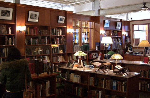 Rare books room at Powell's