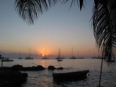 Bayahibe, puesta del sol