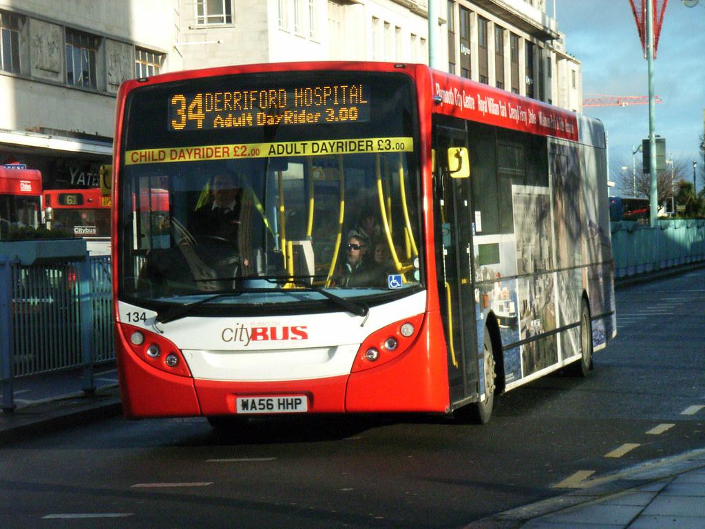 Plymouth Citybus 134 WA56HHP