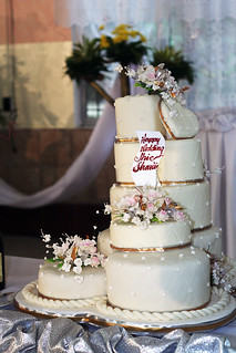 Wedding Cake from Red Ribbon