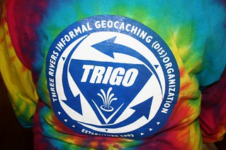 The official tie-died TRIGO logo shirt