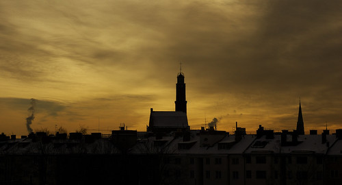 Stockholm silhouette