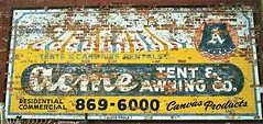 Old Sign: Acme Tent & Awning Company--Detroit MI