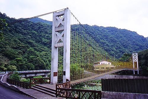 J906坪林北勢溪虎寮潭吊橋