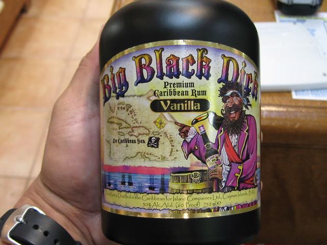 Big black dick rum