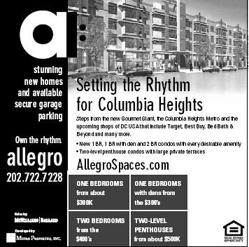 Ad, Allegro Condominiums