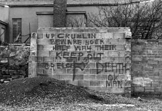 Dublin-graffiti, 1970-talet (foto: thachabre/Creative Commons)