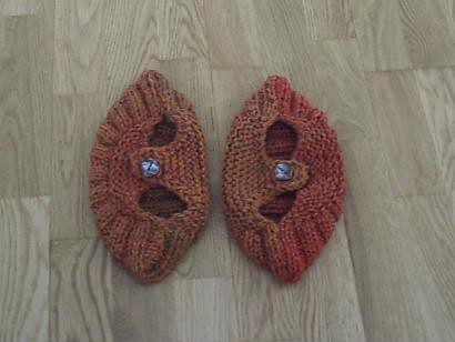 Pattern for knitted slippers - Homelife - Home ideas, decorating