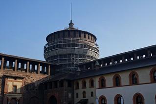 תמונה של Sforza Castle ליד Milano. italy milan sforzacastle castellosforzesco torrionedelcarmine bartolomeogadio