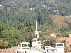 See the steeple