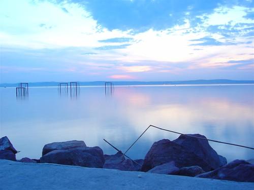 sunset lake geotagged hungary balaton hungaria geo:lat=4691621 geo:lon=18066587 felixhaller funnyfelix