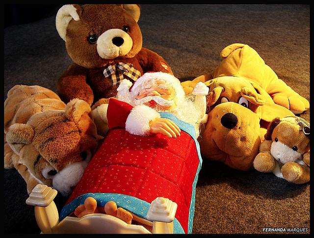 Noel descansando para o Natal 2