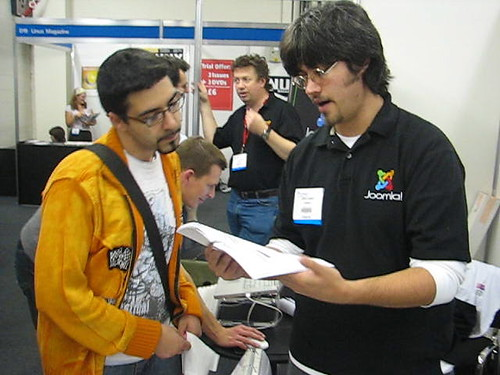 LinuxWorldExpo London 2006