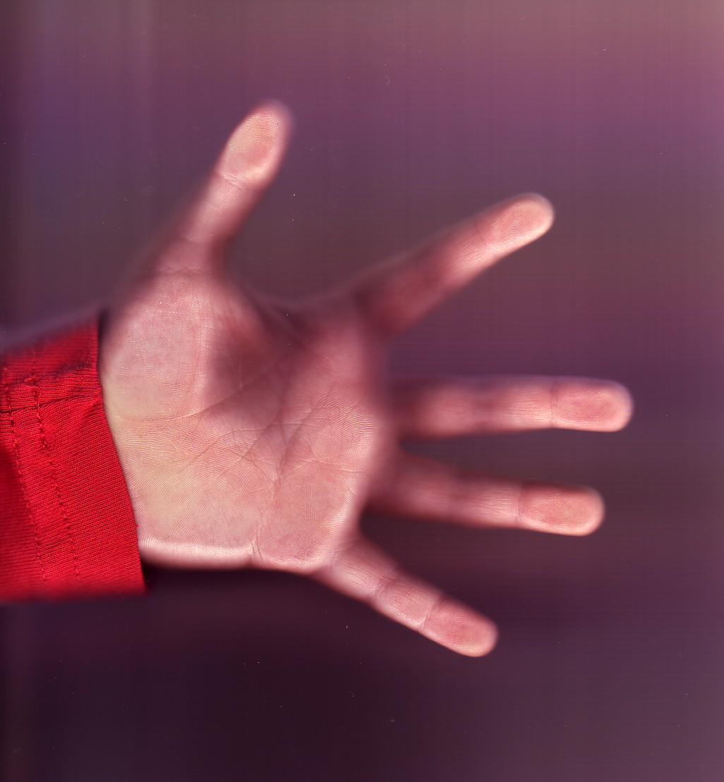 arthur's hand
