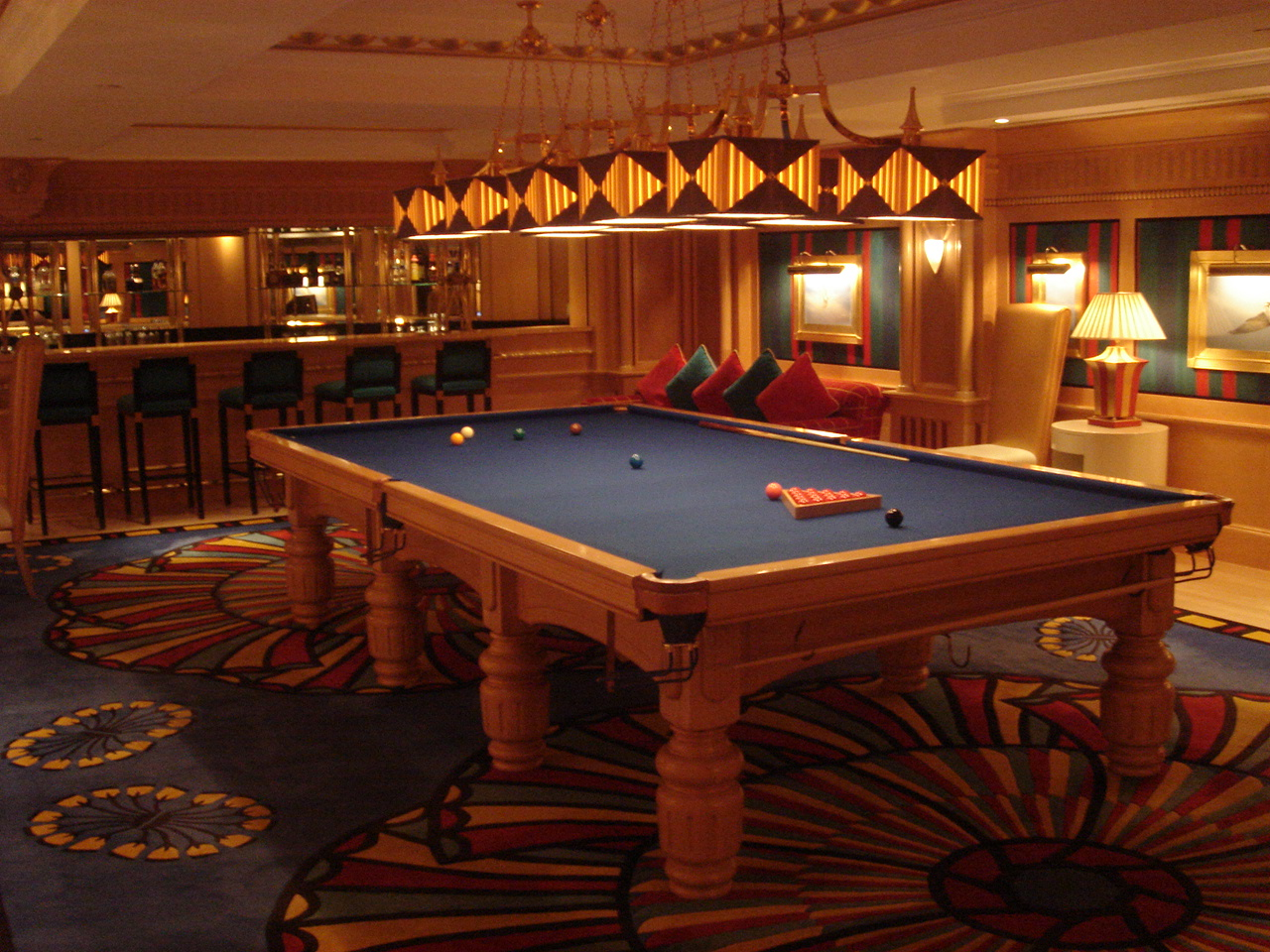 Billiard room burj al arab flickr photo sharing for Burj al arab hotel rooms