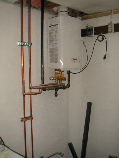 Tankless Water Heater System Design